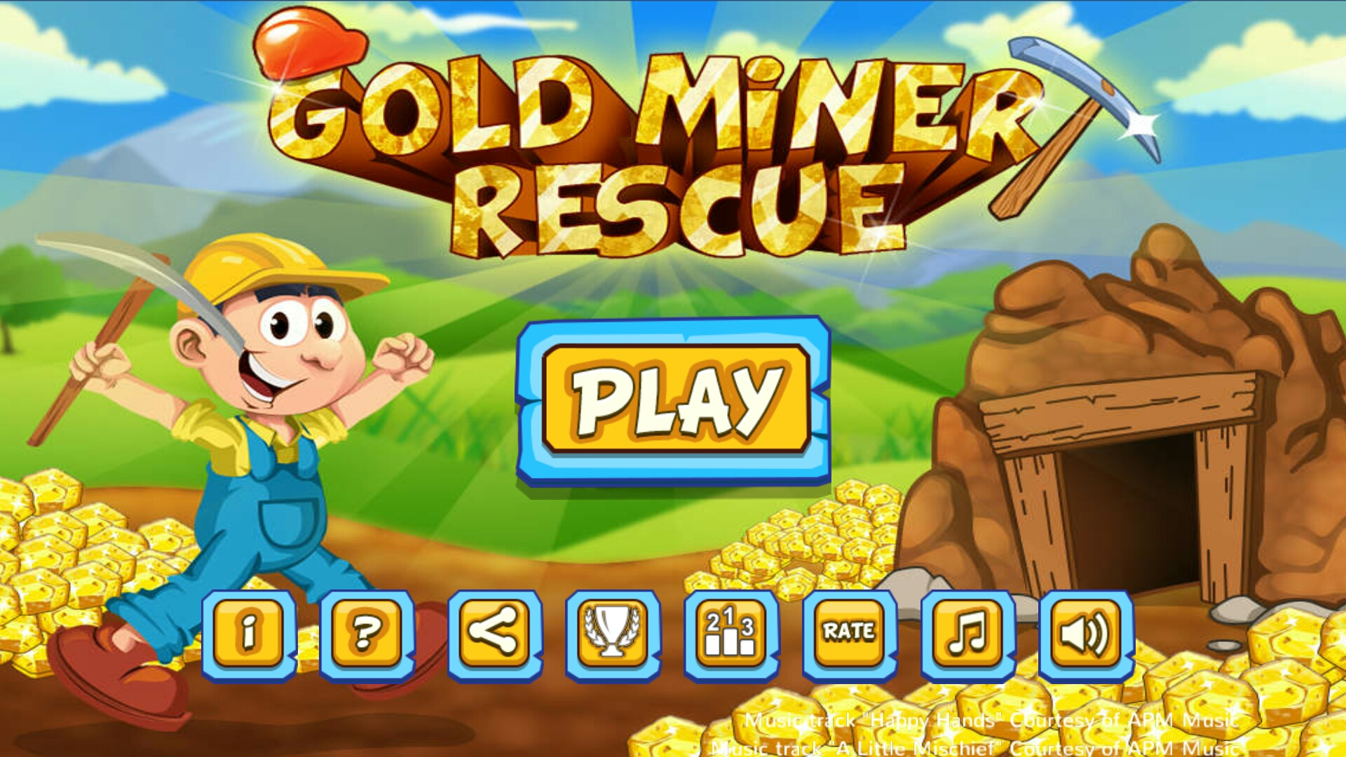 Gold Miner Rescue::By Kurius Games