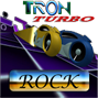 TRON LIGHTCYCLE ROCK RACE GAME game review