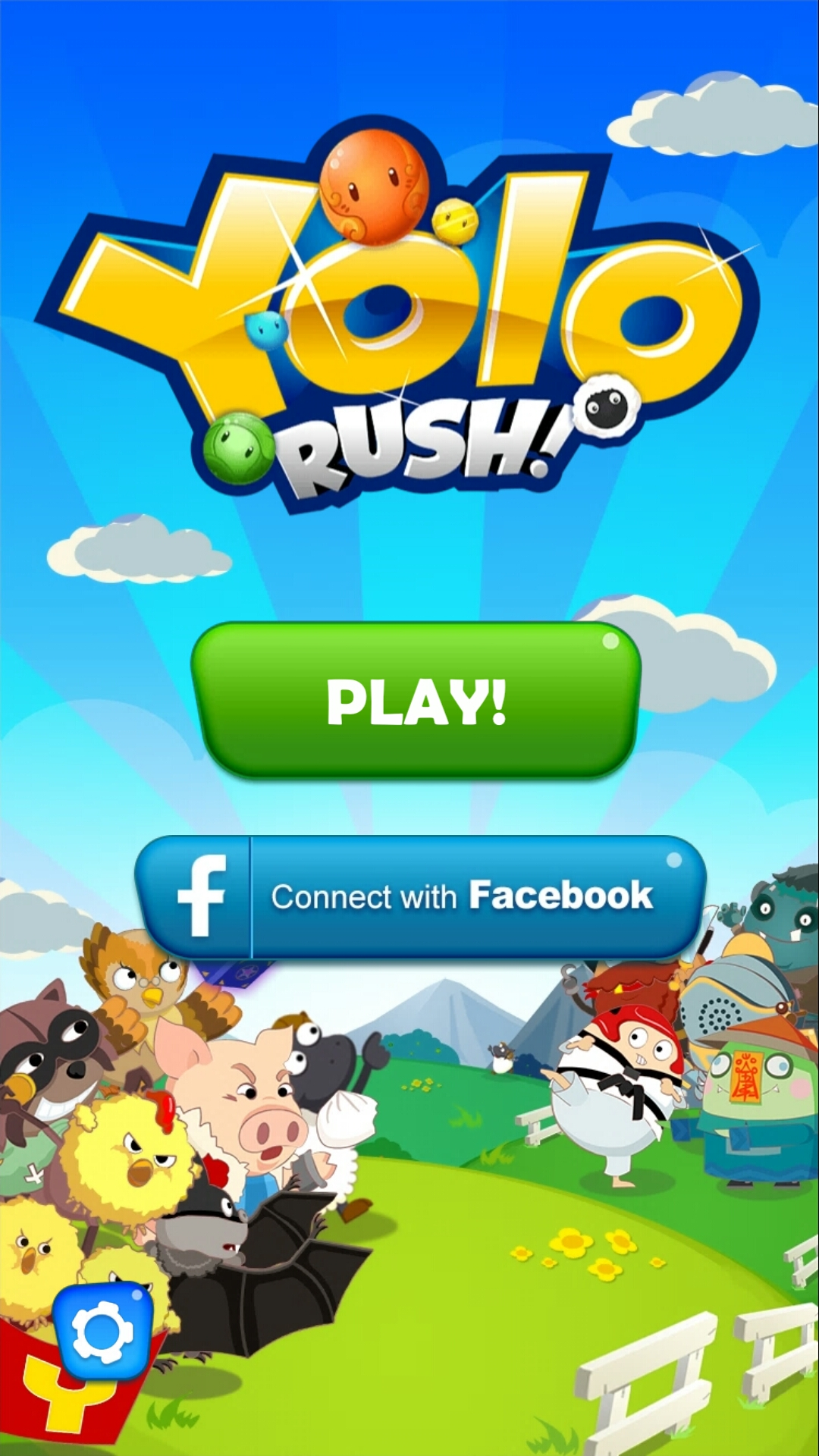 Yolo Rush Game ::By Ingenious Creations Ltd - Switch Color - 4 Pics 1 Word